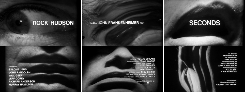 Saul Bass Seconds 1966 title sequence