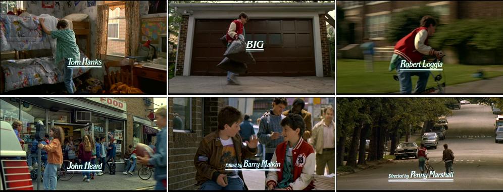 Saul Bass Big 1988 title sequence