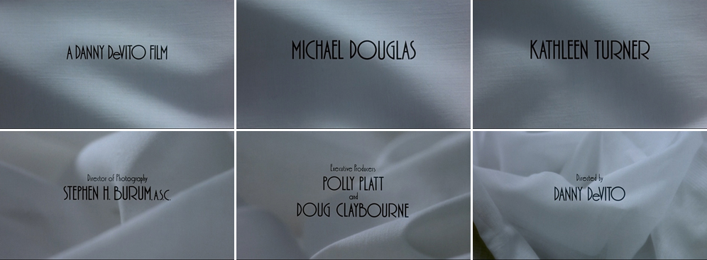 Saul Bass The war of the roses 1989 title sequence