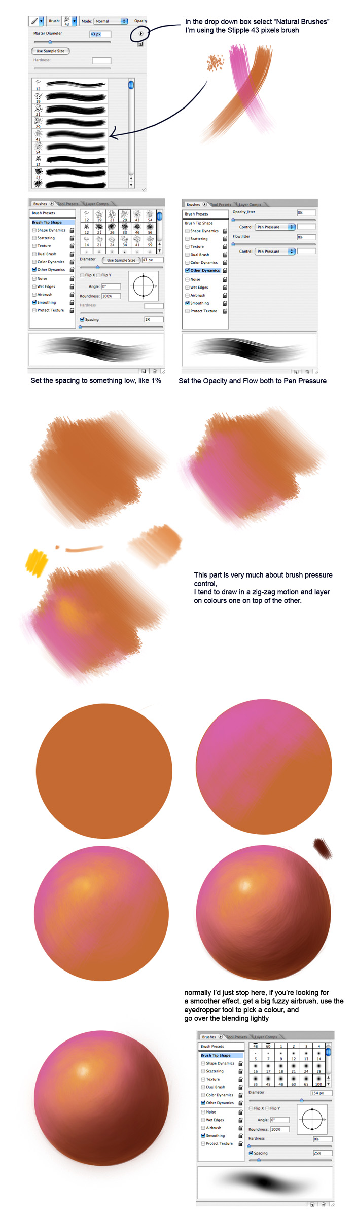 Will it blend? Photoshop Brushes Tutorial part III ~ The Art